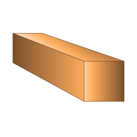 Copper Square Bar