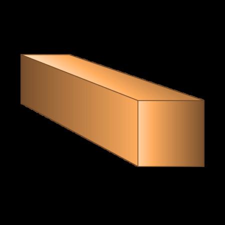Copper Square Bar